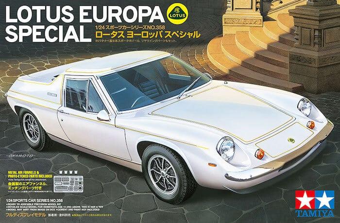 รถทามิย่า TAMIYA 24358 LOTUS EUROPA SPECIAL 1/24