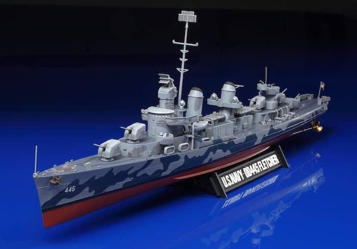 เรือทามิย่า TAMIYA 78012 DD445 FLETCHER 1/350