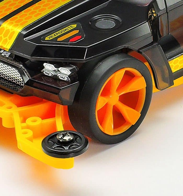 รถทามิย่า Mini4wd 95565 HEXAGONITE BLACK SPECIAL 1/32