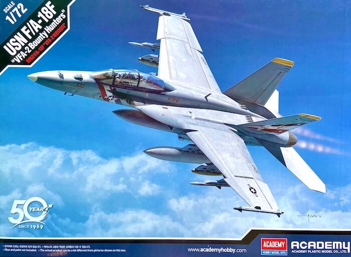 เครื่องบิน ACADEMY 12567 USN F/A-18F VFA-2 BOUNTY HUNTERS 1/72