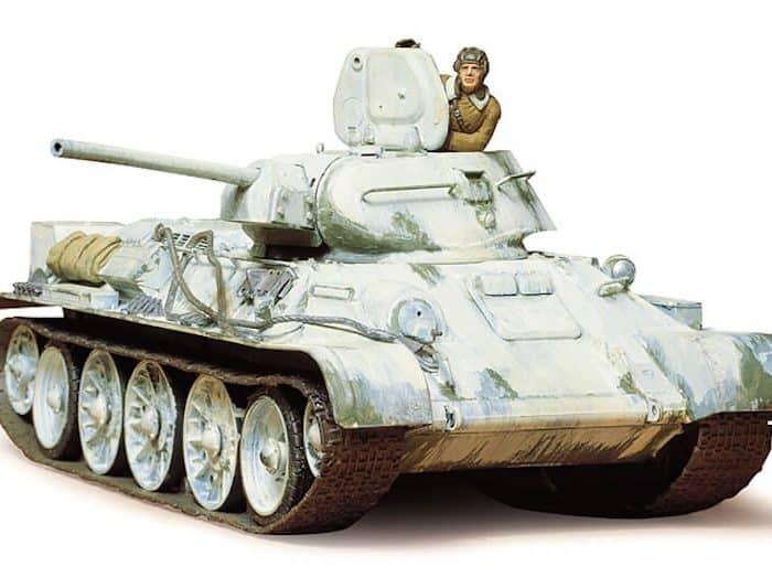 รถถังทามิย่า TAMIYA 35049 RUS. T34/76-1942 1/35