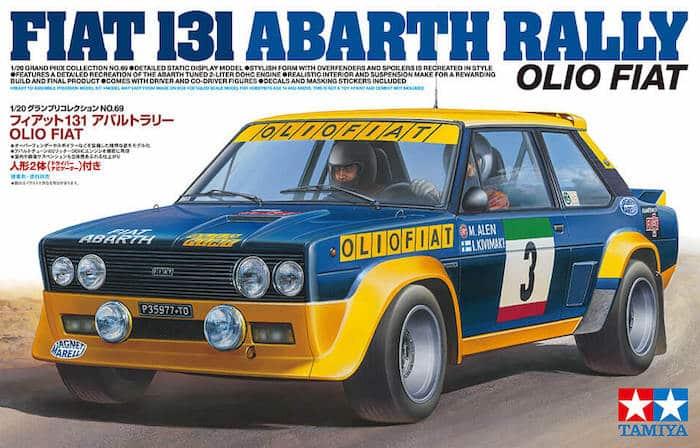 รถทามิย่า TAMIYA 20069 FIAT 131 ABARTH RALLY OLIO FIAT 1/20