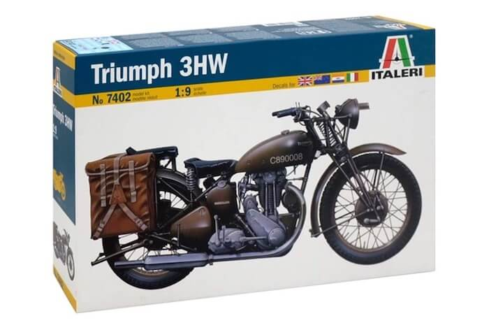 โมเดล IT7402 ITALELI WW.II Triumph 3HW 1/9