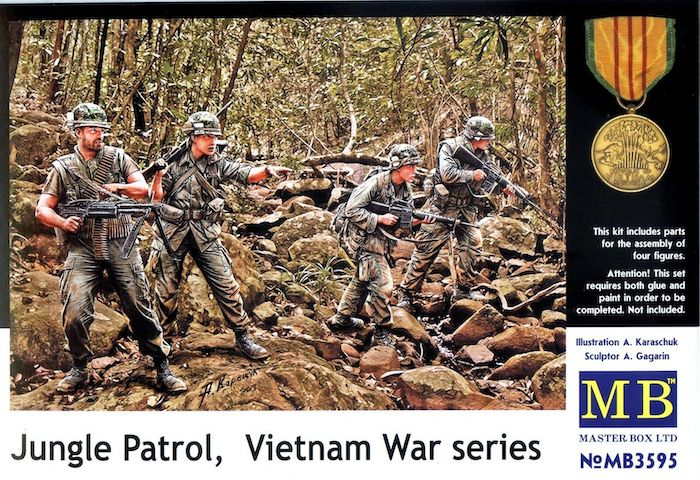 MB3595 Jungle Patrol Vietnam War Series