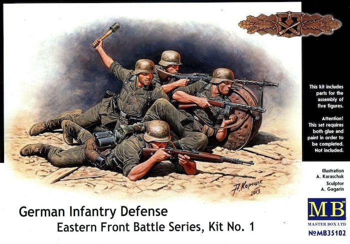 MB35102 German Infantry Defense Eastern Front Battle Series