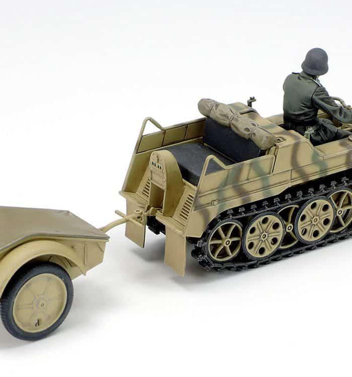 รถถังทามิย่า TA35377 GERMAN Sd.Kfz.2 KETTENKRAFTRAD 1/35