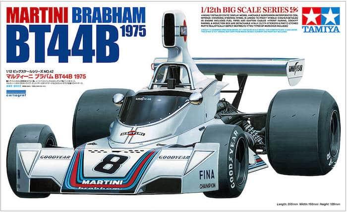 รถทามิย่า TA12042 MARTINI BRABHAM BT44B 1975 1/12