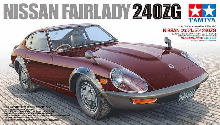 รถยนต์ทามิย่า TAMIYA 24360 NISSAN FAIRLADY 240ZG 1/24