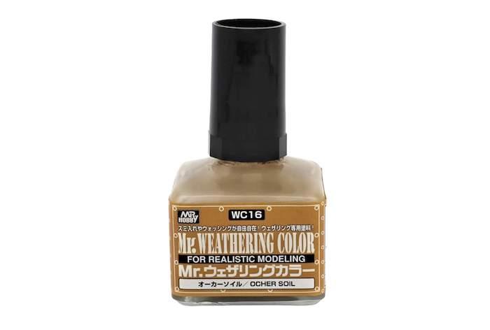 สีดินเหลือง Mr.WEATHERING OCHER SOIL WC16