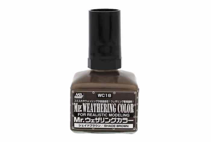 สีน้ำตาลไหม้ Mr.WEATHERING MATT UMBER WC17